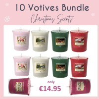 10 Votives - New Christmas Scents