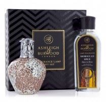 Fragrance Lamp Giftset- Apricot Shimmer + Free 180ml Moroccan Spice