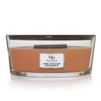 Caramel Toasted Sesame WoodWick Candle Hearthwick Jar