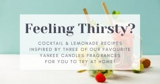 Feeling Thirsty? Yankee Candle Inspired Thirst Quenchers