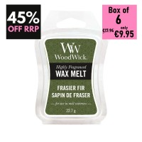 Pack of 6 - WoodWick Wax Melts - Frasier Fir