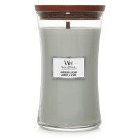 Lavender and Cedar WoodWick Candle Large Jar