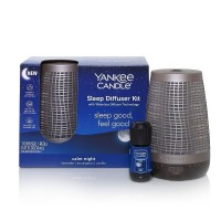 Yankee Candle Sleep Diffuser Bronze Starter Kit & Calm Night