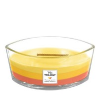 Tropical Sunrise Ellipse WoodWick Jar