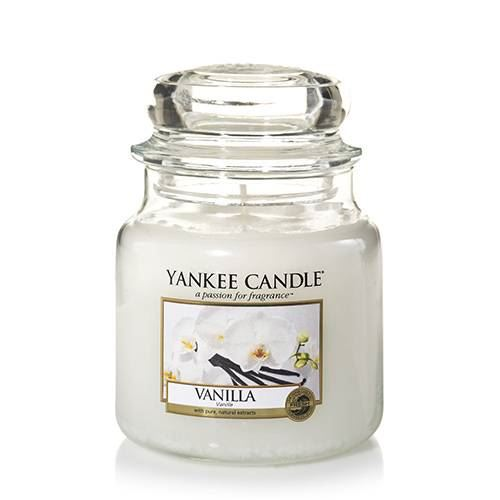 Vanilla Medium Yankee Candle