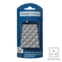 Yankee New Scent Plug - Faceted Pattern
