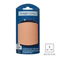 Yankee New Scent Plug - Triangle Pattern peach