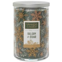 Balsam and Cedar Large 2 Wick Yankee Tumbler