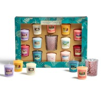 Yankee Candle The Paradise Collection 12 Votive 1 Holder Gift Set