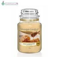 Sweet Honeycomb Large Yankee Candle