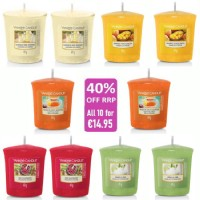 10 Votives - Fruity Mix