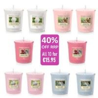 10 Votives - New Florals