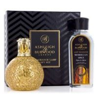 Fragrance Lamp Giftset - Golden Orb + Free 180ml Fragrance