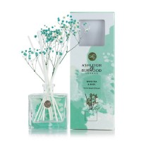 Ashleigh & Burwood Life In Bloom Floral Reed Diffuser - White Tea & Basil
