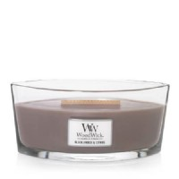 Black Amber Citrus - Woodwick Hearthwick Candle