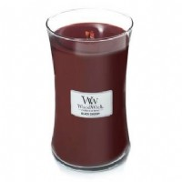 Black Cherry - Woodwick Large Candle