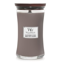 Black Amber Citrus - Woodwick Large Candle