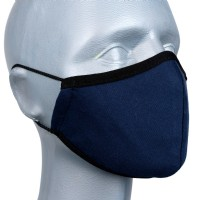 Children's Face Covering - Pack 3 - Classic Navy