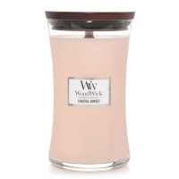 Coastal Sunset - Large Woodwick Candle