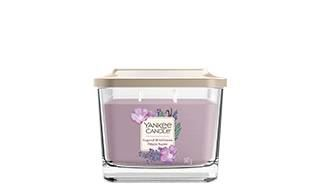 Elevation Medium 3-Wick Square Candle
