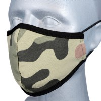 Children's Face Covering - Pack 3 - Camouflage