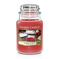 Letters to Santa Yankee Candle Large Jar