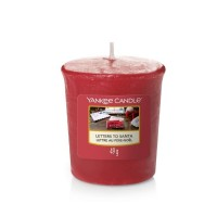Letters to Santa Yankee Candle Votive