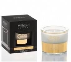 Millefiori Boxed Candle - Mineral Gold