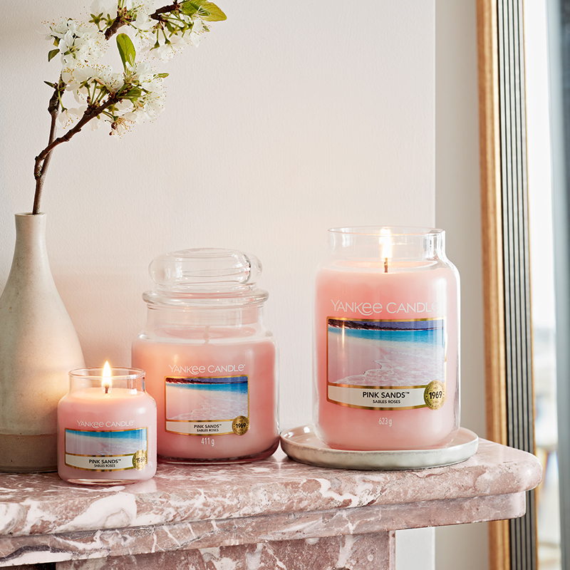 Pink Sands Large Yankee Candle