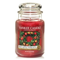 Red Apple Wreath Large Yankee Candle