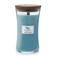 SeaSalt & Cotton - Woodwick Large Candle