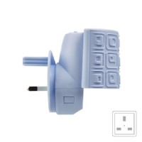 Scent Plug Base - Spa Blue
