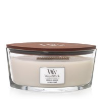 Smoked Jasmine - Woodwick Hearthwick Candle