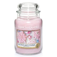 Snowflake Cookie Large Yankee Candle