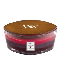 Trilogy Sun Ripened Berries - Woodwick Hearthwick Candle
