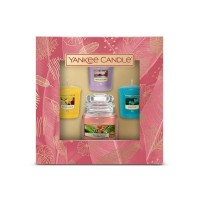 Yankee Candle The Paradise Collection1 Small Jar 3 Votive Gift Set