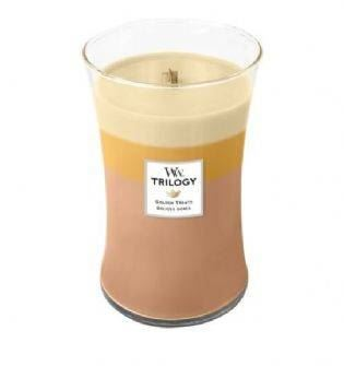 Trilogy Golden Treats Large Candle