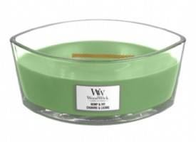 Hemp & Ivy Woodwick Hearthwick Jar