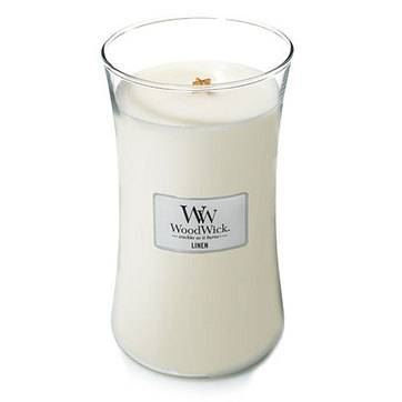 Linen - Woodwick Large Candle