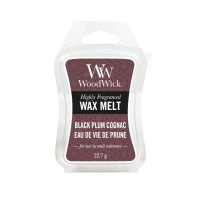 WoodWick Wax Melt - Black Plum Cognac
