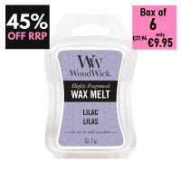 Pack of 6 - WoodWick Wax Melts - Lilac