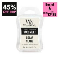Pack of 6 - WoodWick Wax Melts - Solar Ylang