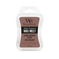 Stone Washed Suede - WoodWick Wax Melt