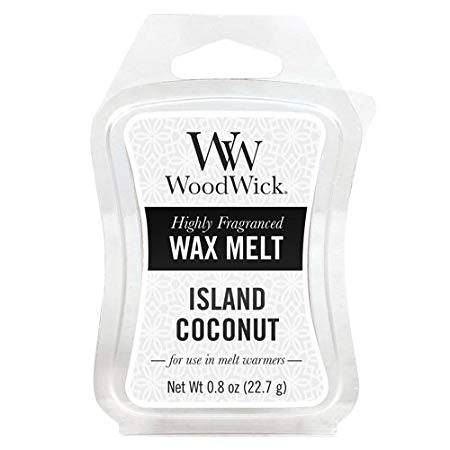 Island Coconut Woodwick Wax Melt