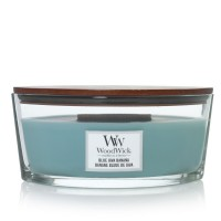 Blue Java Banana Woodwick Hearthwick Jar
