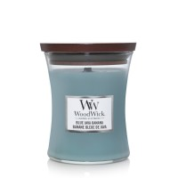 Blue Java Banana Medium Woodwick Candle