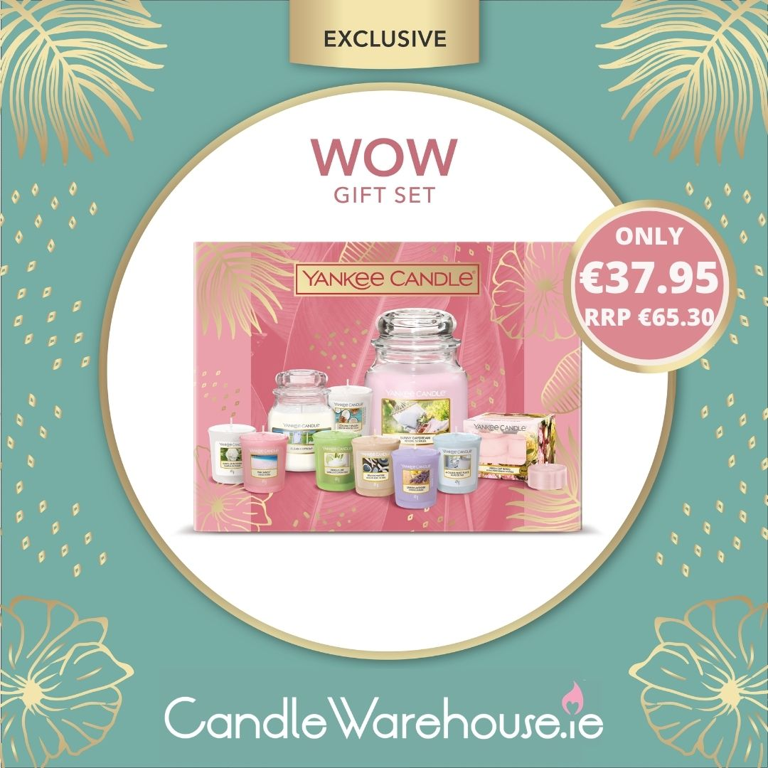 Exclusive Yankee Candle WOW Gift Set