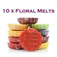 10 Melts - Floral Fragrances
