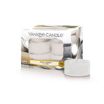 Baby Powder Yankee Candle Tea lights