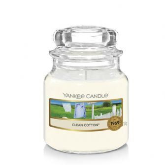 Clean Cotton Small Yankee Candle
